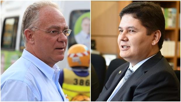 Paulo do Vale e Heuler Cruvinel: a disputa em Rio Verde | Fotos: reprodução / Facebook