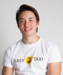 Léo Tang, do Easy Taxi: estimativa é de que 60% dos taxistas de Goiânia usem o app |Foto: divulgação