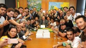 Integrantes do MBL se reunem com Eduardo Cunha e líderes da oposição ao PT | Foto: Reprodução/Facebook Eduardo Cunha