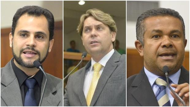 Simeyzon Silveira, Bruno Peixoto e Santana Gomes foram os únicos deputados que não tiveram registro de fakta | Fotos: Marcos Kennedy/ Y. Maeda/ Marcos Kennedy