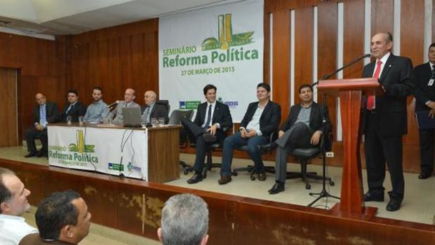 Relator Marcelo Castro fala sobre reforma política na Alego: tarefa muito pesada para o deputado do Piauí