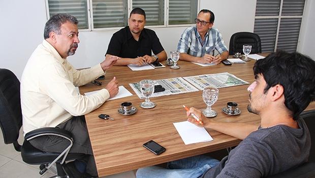 """Vereador Elias Vaz, em entrevista: """"Vanderlan está em uma situação muito interessante para a eleição em Goiânia""""   Foto: Fernando Leite/Jornal Opção"""