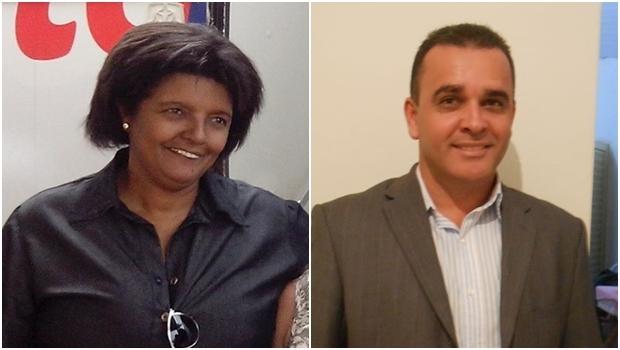 Vereadores Kátia Tourinho e Luciano Alves: denúncias contra o prefeito Miller | Fotos: Facebook
