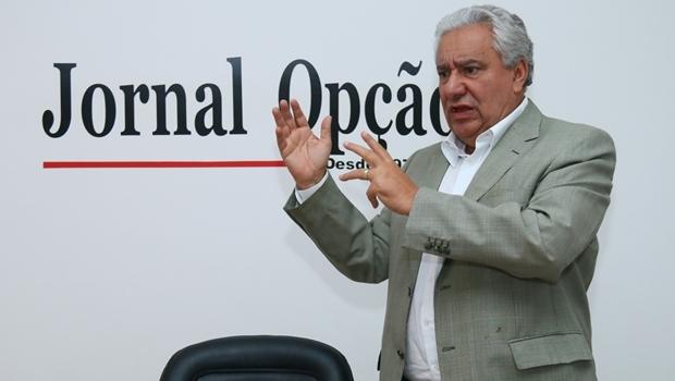 Secretário Vilmar Rocha reconhece que VLT para este governo é possibilidade remota | Foto: Fernando Leite / Jornal Opção