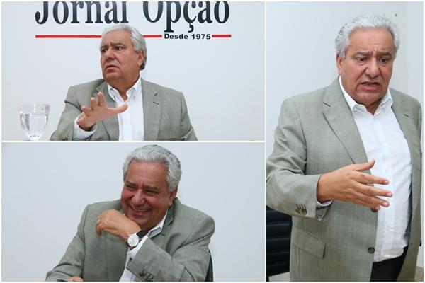 Vilmar diz que sempre fez oposição ao PT, mas, após a eleição, é preciso ter relação republicana   Fotos: Fernando Leite / Jornal Opção