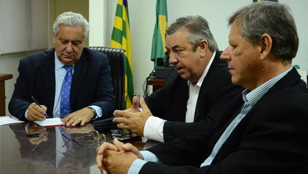 Reunião na Secima para definir rumos do CAR em Goiás | Foto: Assessoria