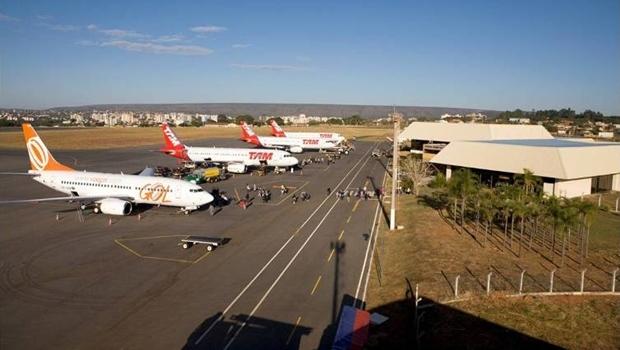 Foto do Aeroporto de Caldas Novas   Foto: secretaria de Turismo