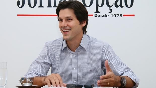 Daniel Vilela diz que vai disputar o governo de Goiás em 2018 e que não tem plano b