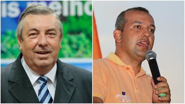 José Mário Schreiner (PSD) e Eurípedes Jr. (Pros): futuros deputados federais por Goiás? | Fotos: Reprodução/ Facebook