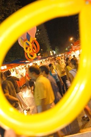 Matéria sobre a feira da lua na praça tamandaré. fernando leite