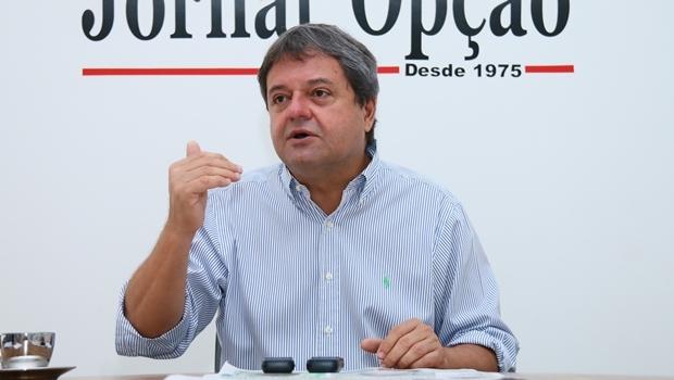 Jayme Rincón admitiu a possibilidade de parceria entre PSDB e PTB | Foto: Fernando Leite/Jornal Opção