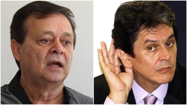 Deputado goiano Jovair Arantes e Roberto Jefferson: disputa no PTB | Fotos: Facebook / Marcello Casal Jr. / ABr