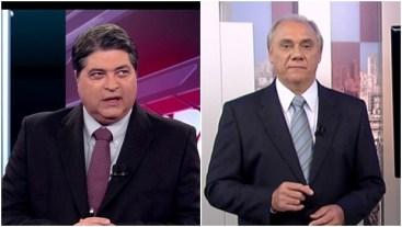 Marcelo Rezende e José Datena, líderes de audiência com programas sanguinários:mais consequência do que causa