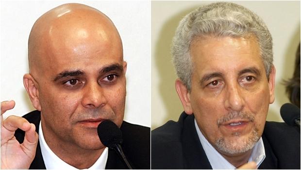 """Transferências realizadas por Marcos Valério (esquerda) e Henrique Pizzolato alimentavam o """"valerioduto""""   Foto: Antonio Cruz/ABr e José Cruz/ABr"""