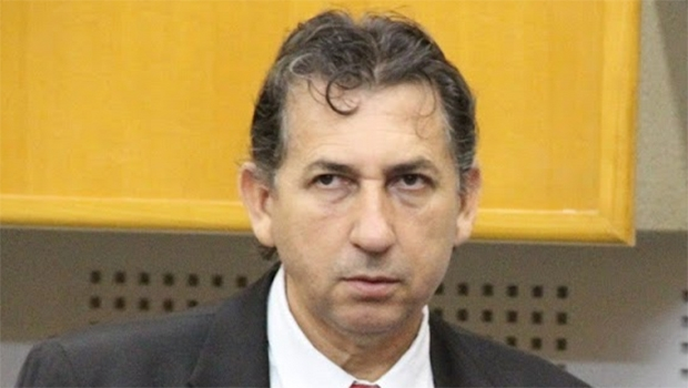 Paulo da Farmácia não foi autorizado a entrar no plenário da Assembleia | Foto: Alberto Maia/Câmara de Goiânia