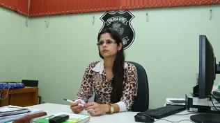 """Delegada titular da Depai, Tereza Daniela Nunes: """"Em comparação com outros crimes, a taxa de homicídios cometidos por adolescentes não é a maior"""""""