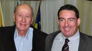 José Antônio Vitti (esquerda) e seu filho, o deputado José Vitti | Foto: Reprodução/Facebook