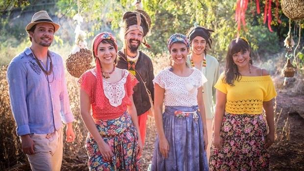 A banda Passarinhos do Cerrado é uma das atrações | Foto: Divulgação
