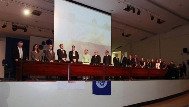 Abertura oficial do Abrascão 2015, no Centro de Eventos da UFG |Foto: Reprodução/Facebook Abrasco