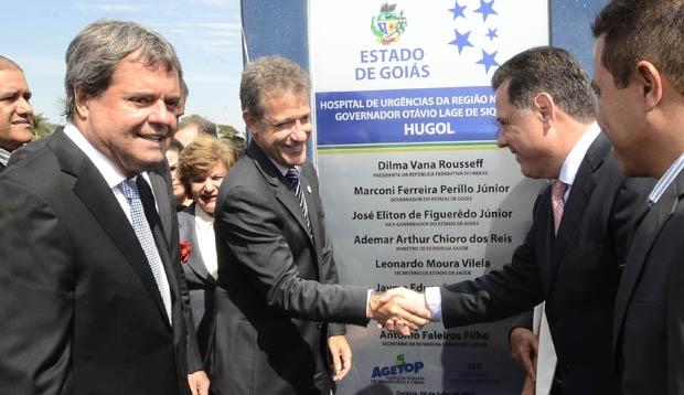 Governador inaugura o Hugol. Fotos Rodrigo Cabral
