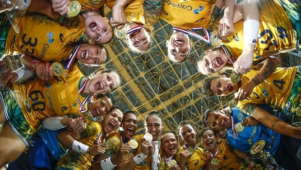 Brasil vence Cuba e fica com o ouro no Handebol Feminino | Foto: Wander Roberto / Inovafoto