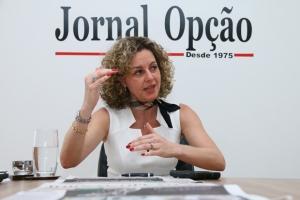 Secretária da Fazenda, Ana Carla Abrão   Foto: Fernando Leite/ Jornal Opção