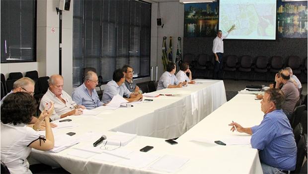 Terceiro encontro da comissão, realizado na última segunda-feira | Foto: Divulgação/Prefeitura de Goiânia