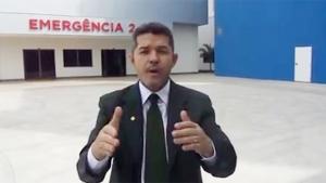 Delegado Waldir Soares se reuniu com vereadores do PSDB | Foto: Reprodução/Vídeo/Facebook
