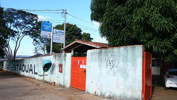 Colégio Estadual Waldemar Mundim, na Vila Itatiaia: uma das escolas de Goiânia que serão transformadas  em instituições de ensino militar