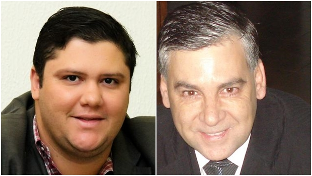 Disputa à Câmara de Anicuns será entre dois pessedistas: Jangular Filho e Jorge Menezes | Fotos: reprodução / Facebook