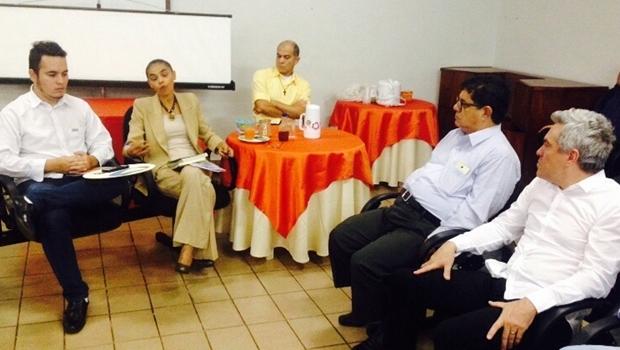 Marina Silva participa de reunião em Anápolis | Foto: Divulgação