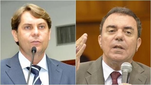 Deoutados de oposição Bruno Peixoto (PMDB) e Luis Cesar Bueno (PT) questionaram a aprovação do projeto   Fotos: Marcos Kennedy