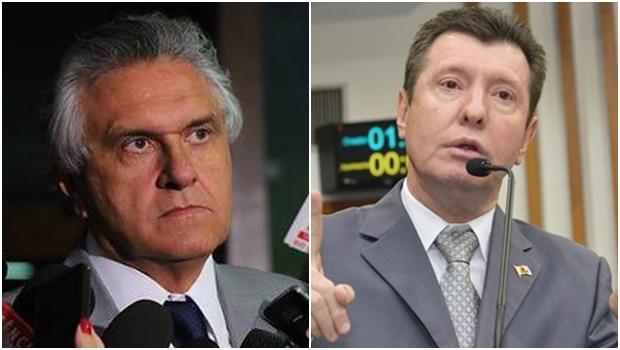 Senador Ronaldo Caiado e deputado estadual José Nelto | Fotos: Divulgação/Facebook - Alego