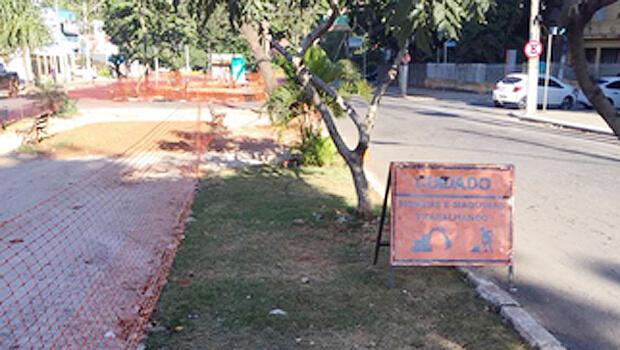 Obras do Corredor T-7 e da revitalização da Praça Cívica são vistoriadas