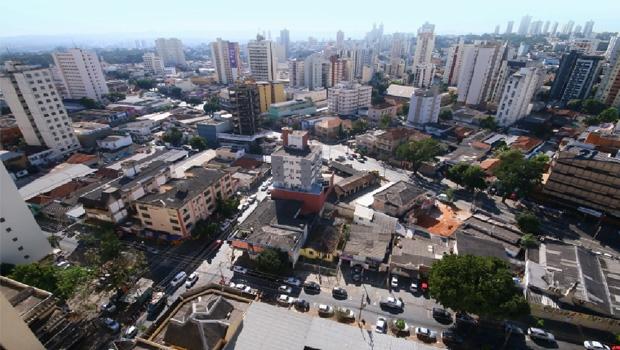 Centro de Goiânia visto do alto: região pode ser melhor aproveitada, sobretudo com mais moradores