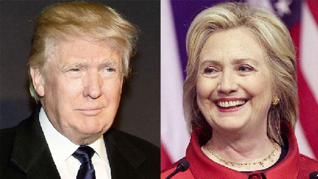 Pesquisa mostra Trump a um passo de alcançar Hillary na corrida eleitoral