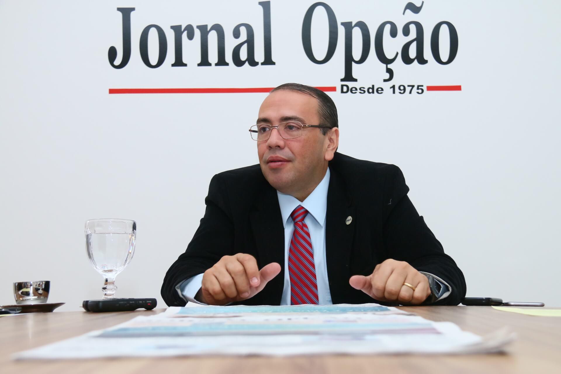 Eduardo Machado articula chapa de candidatos a deputado e deve compor com Ronaldo Caiado