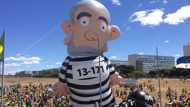 Pixulecão 13-171: o Brasil ri da corrupção