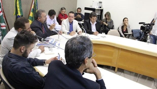 Comissão Especial de Inquérito reunida | Foto: Alberto Maia
