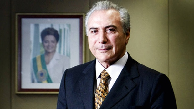 Michel a frente de Dilma