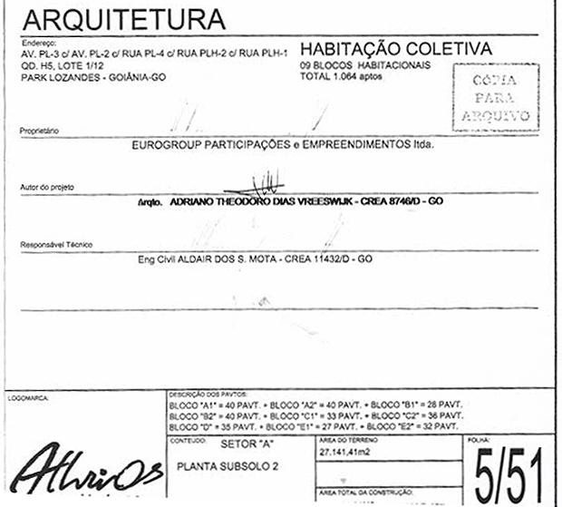 Contrato fechado entre Eurogroup e a empresa Athrios | Foto: Reprodução