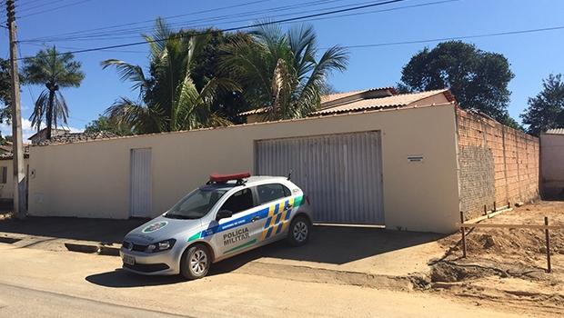 Fachada da casa do prefeito de Cavalcante   Foto: Divulgação/PC