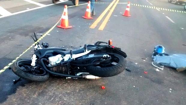 Em Goiânia, 84% das vítimas fatais em acidentes de trânsito estavam em motocicletas