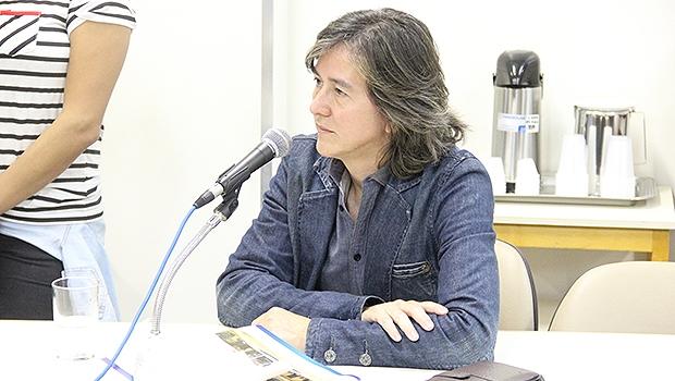 Douglas Branquinho durante depoimento à CEI das Pastinhas   Foto: Alberto Maia/Câmara de Goiânia