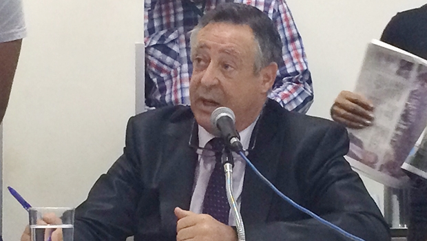 Representante do grupo Euroamérica, Juan Angel Zamora Pedreño | Foto: Rubens Salomão