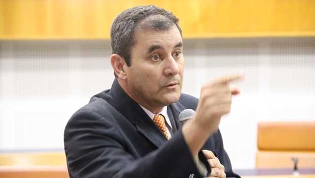 Vereador Clécio Alves, do PMDB | Foto: Alberto Maia / Câmara Municipal de Goiânia