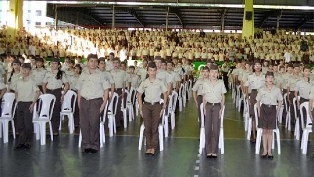 Goiás é o Estado com mais escolas militares do Brasil