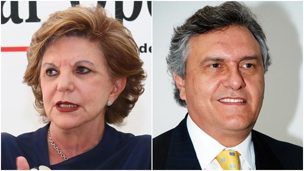 Lúcia Vânia ajuda e Ronaldo Caiado atrapalha Goiás. É o que dizem políticos da base marconista