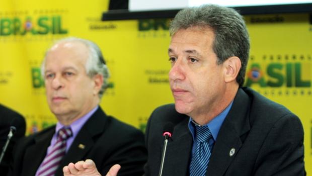 Ministros Renato Janine e Arthur Chioro, da Educação e Saúde: Cadastro Nacional de Especialistas   Foto MiS