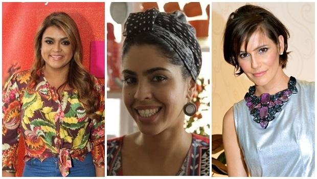 Participaram da Campanha, entre outras, a cantora Preta Gil, a apresentadora Bela Gil e a atriz Deborah Secco | Fotos: Reprodução Facebook